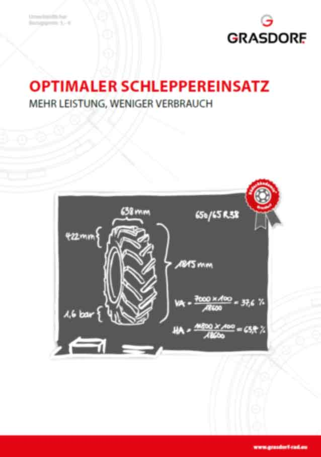 Optimaler Schleppereinsatz